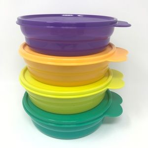 Other - 4 NEW Tupperware Bowls with Lids